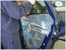window tint installation